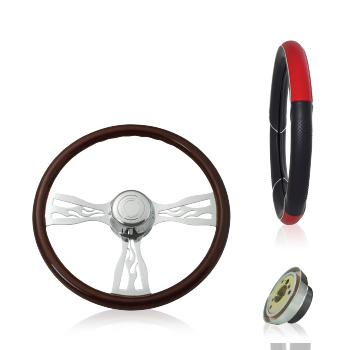 Steering Wheels, Covers, and Adapter Hubs