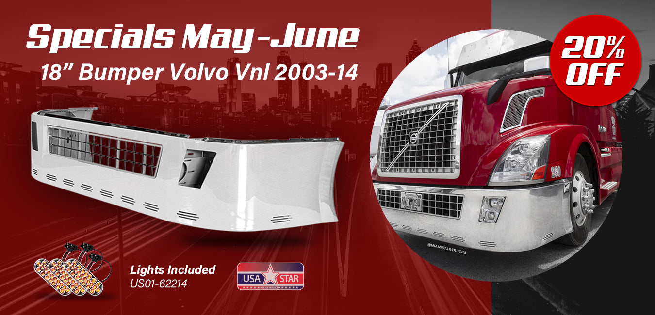 Volvo VNL Bumper with 20% OFF