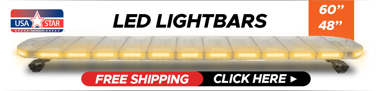 LED Lightbar with Free Shipping