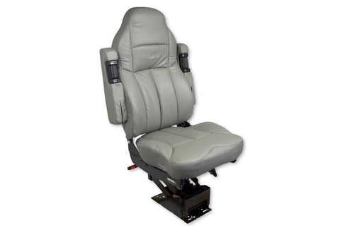 Seat Legacy Silver Ultraleather With  Arms Gray