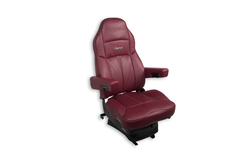 Seat Legacy Lo,  Ultraleather With Arms Burgundy