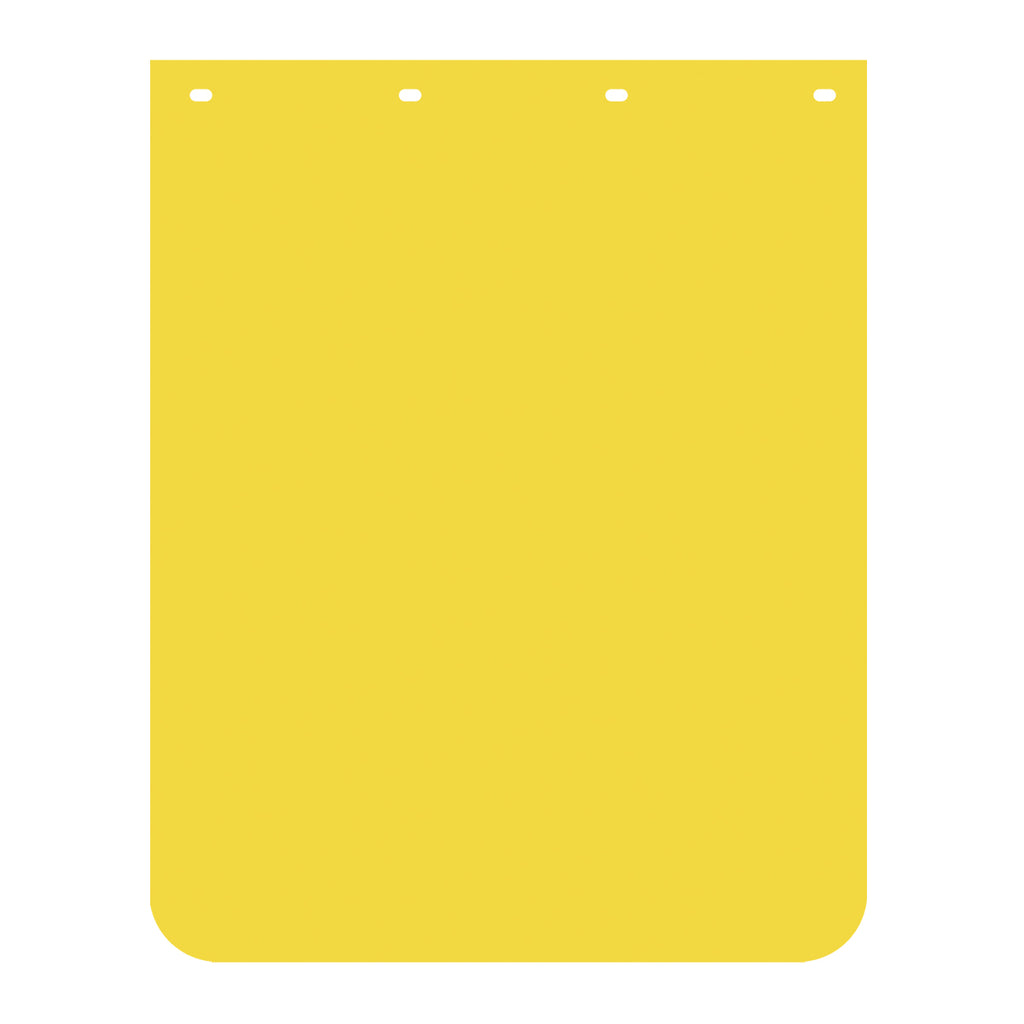 "PAIR YELLOW POLY 24/""x30/"" MUD FLAPS"