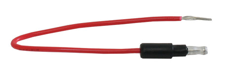 Bullet Plug Wire Red