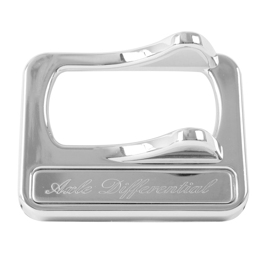 Air Suspension Rocker Switch Cover w/ Stainless Steel Script Plate for  Peterbilt 2005 & Later