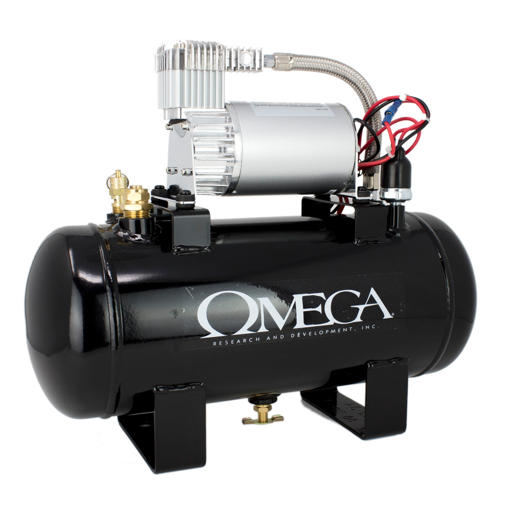 Omega Excalibur Compressor And Tank For Air Horn (1 5 Gal Unit