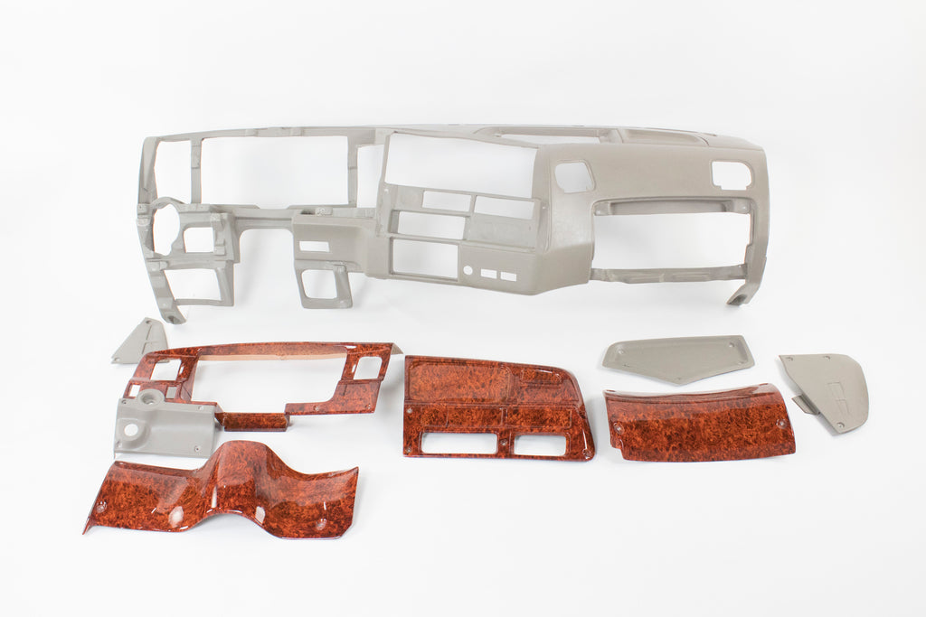 Complete Ford Sterling 97+ Fiberglass Dash with Removable Parts