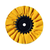 "10"" Yellow Treated Airway Buff - 5/8"" & 1/2"" Arbor"