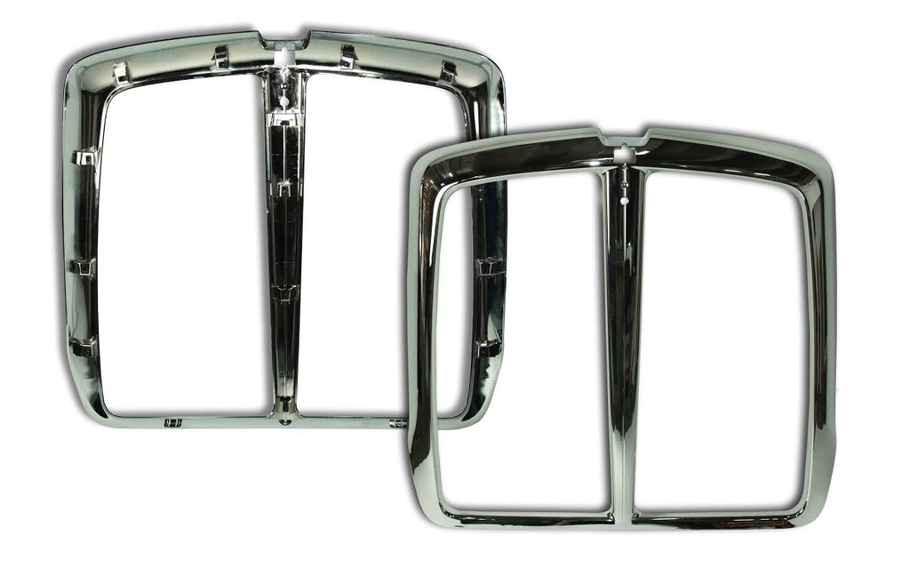 Grille Surround For Kenworth T660, Chrome Plastic