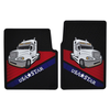 Rubber Floor Mats for Freightliner Columbia