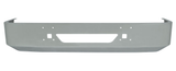"16"" International 9200 And 9400 Bumper Fits 1997 And Newer (Chrome, Aero, Bolt Holes, Tow, Fog Light Holes, 7 Gauge)"