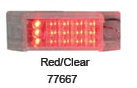 Red LEDs / Clear Lens