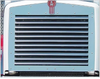 Grille fits Kenworth T800 Stainless Steel, 1995 & Up 11 Louvers