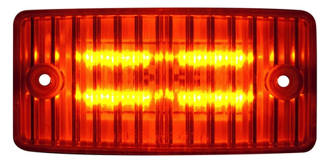 Cab Marker Led Amber/Amber ( Connectors Included )