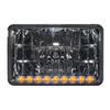 "4"" x 6"" Halogen Headlights With 9 Amber LEDs"