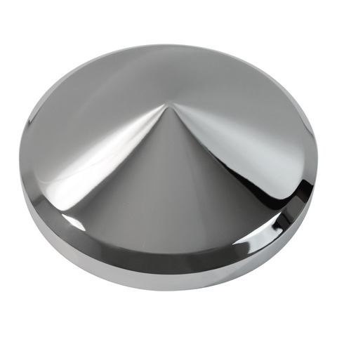 "8"" Diameter Universal Chrome Rear Hub Cap"