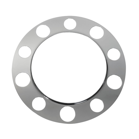 Chrome Beauty Ring Only For 10 Holes Steel Wheels