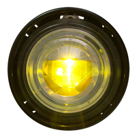 Yellow LED/Clear Lens