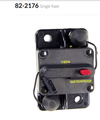 High Amperage Thermal Circuit Breakers