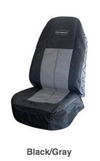Seat Cover, Coveralls Black/Gray Cpn