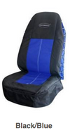 Seat Cover, Coveralls Black/Blue Cpn