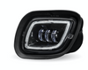 LED Projector Fog Light Black   fits Freightliner Cascadia