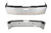 "20"" Chrome Bumper (FL Fld120 / Fld112 All Years) Aero, Tow And 11 Hidden Light Holes"