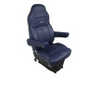 Seat Legacy Lo, Highback DuraLeather™ with under adjust Arms (Blue)