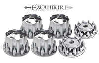 Push In 33mm Excalibur Lug Nut Covers