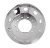 "Aluminum Wheel 19.5"" x 6.0""   10 Holes,  both  Side Polisehd"