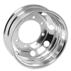 "Aluminum Wheel  19.5"" X 6.75"", 8 Holes, Both Side Polish Hub Pilot"