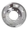 "Aluminum Wheel 22.5"" X 8.25"", 8 Holes, Both Side Polished In / Out Side"