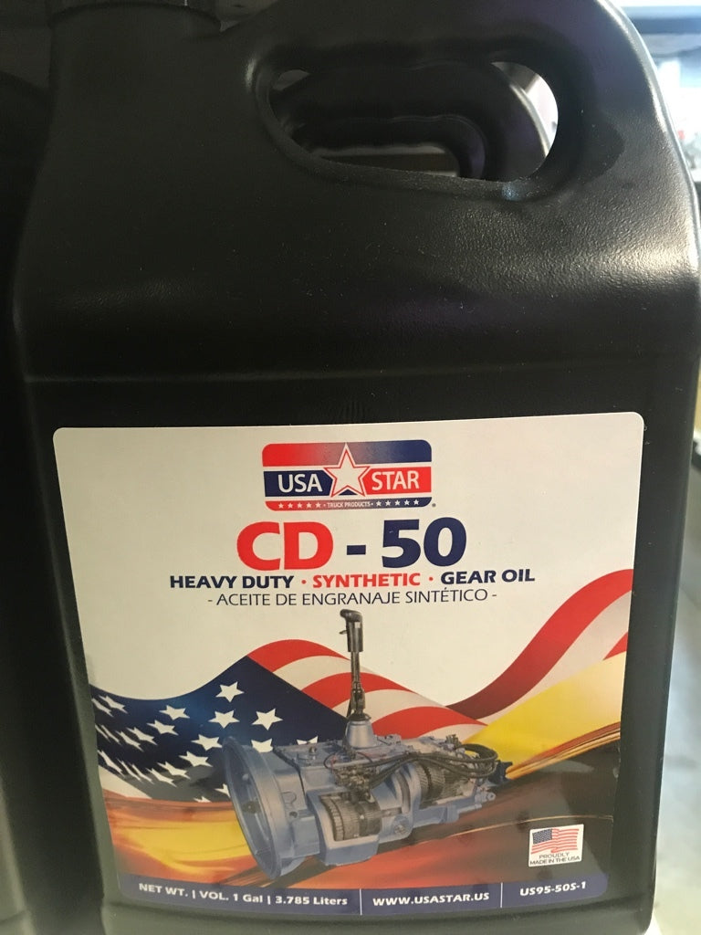 USA STAR Synthetic CD50 Transmission Gear Oil , 1 Gallon Pail