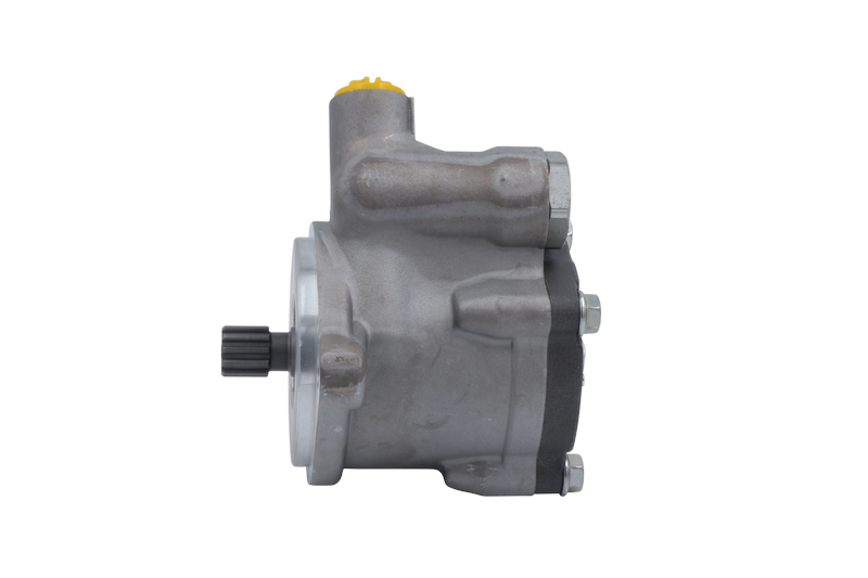 Power Steering Pump Cascadia, Columbia Class W/DD15 Engine Models CCW, 2683  PSI, 4 23 GPM, 11 Tooth, 16/32 Spline Ports Left Side Inlet & Top