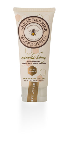 Vanilla Bee Nourishing Hand & Body Lotion Tube  100ml/3.4oz