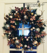 Custom Handmade Wreath - Seasonal