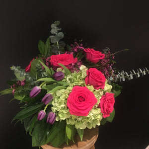 Classic Valentine's Day Floral Arrangements - Designer Choice