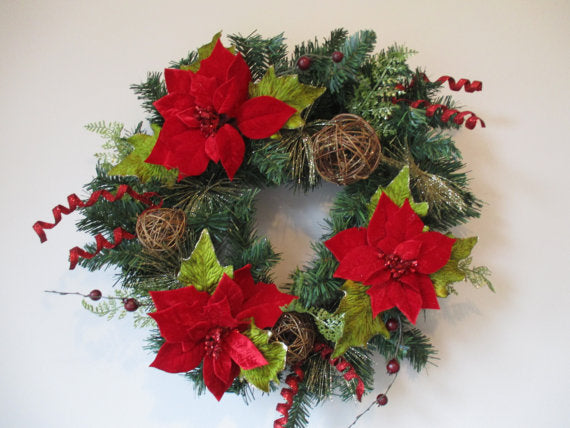 Custom Handmade Wreath - Holiday Standard Luxe