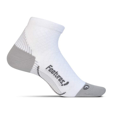 Feetures PF Quarter White