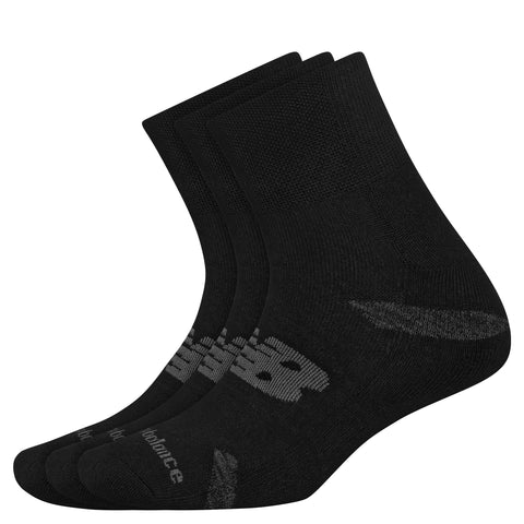 Performance Cushion Quarter Socks 3 Pack