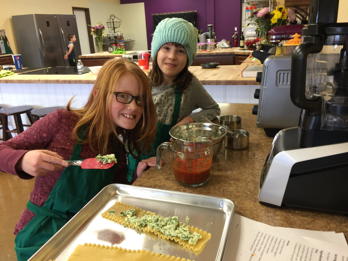 November 03 Cooking Camp: Easy Dinners For Kids