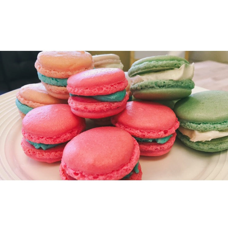 October 02 Cooking Camp: French Macarons (and Meringue Kisses)