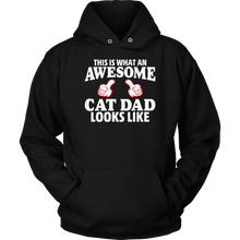 This Is What An Awesome Cat Dad Looks Like Shirt & Hoodie