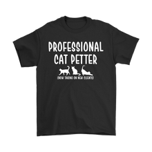 Professional Cat Petter T-shirt