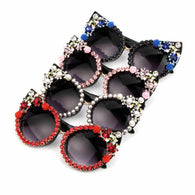 Rose Luxury Cat Eye Sunglasses