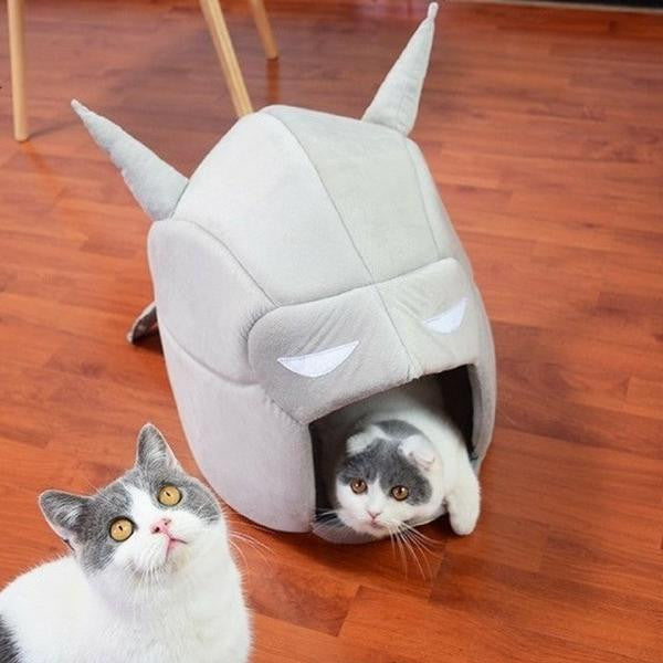 Bat cave bed for cats kitten