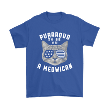 4th of July - Proud To Be American Cat Shirt