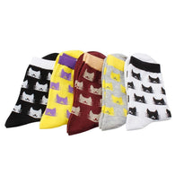 Crazy Cat Lady Socks (5-Pack)