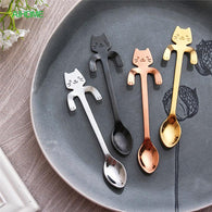 Smiling Cat Spoon(s) - Stainless Steel