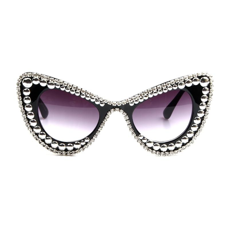 26e8af742db Fashion-Women-Cat-Eye-Sunglasses-silver-Beads-Decoration-Retro-Sunglasses -Bling-Rhinestones-Men-Sun-Glasses-Vintage f00a4bfd-5a9d-4955-a9fb- ...