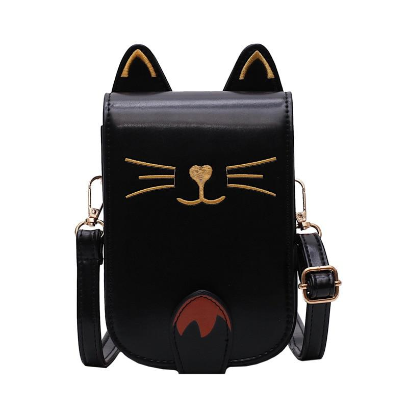Travel Buddy Cat Face Compact Bag